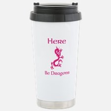 Here Be Dragons Travel Mug