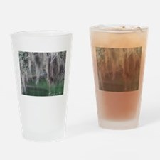Gator, Moss Trees and Manatees Drinking Glass