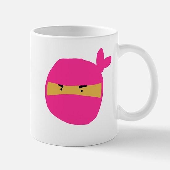 Pink Ninja Mug