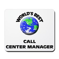 World's Best Call Center Manager Mousepad