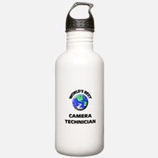 World's Best Camera Technician Water Bottle