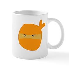 Orange Ninja Sketch Mug