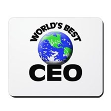 World's Best Ceo Mousepad
