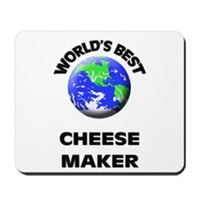 World's Best Cheese Maker Mousepad