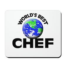 World's Best Chef Mousepad