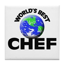 World's Best Chef Tile Coaster