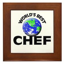World's Best Chef Framed Tile