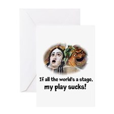 My Play Sucks Greeting Card