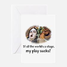 My Play Sucks Greeting Card
