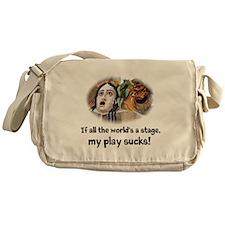 My Play Sucks Messenger Bag