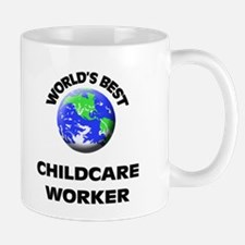 World's Best Childcare Worker Mug