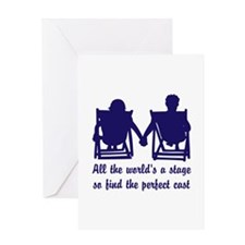 Find the Perfect Cast Greeting Card