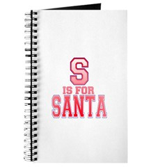 S is for Santa Journal