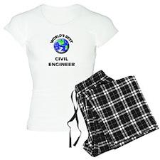World's Best Civil Engineer Pajamas