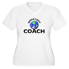 World's Best Coach Plus Size T-Shirt