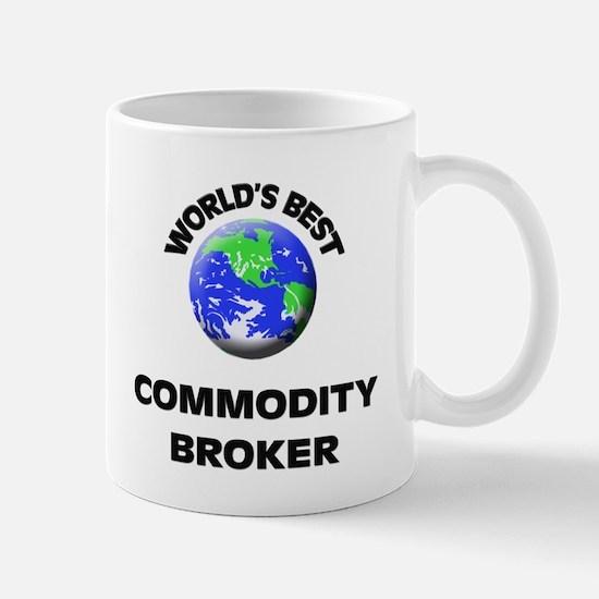 World's Best Commodity Broker Mug