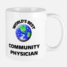 World's Best Community Physician Mug