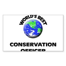 World's Best Conservation Officer Decal