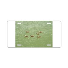 Baby Ducks Aluminum License Plate