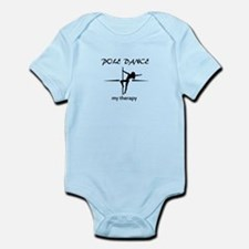 Pole Dancing my therapy Infant Bodysuit