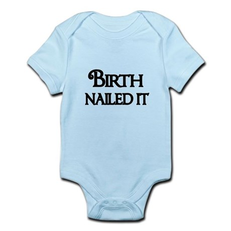 Birth Nailed It-black Body Suit