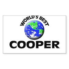 World's Best Cooper Decal