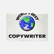 World's Best Copywriter Rectangle Magnet