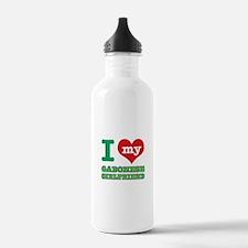 Gabonese Girlfriend designs Water Bottle