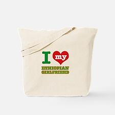 Ethiopian Girlfriend designs Tote Bag