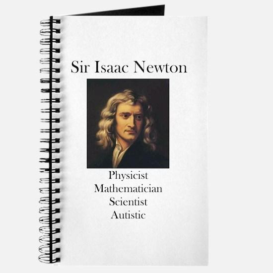 Autistic Isaac Newton Journal