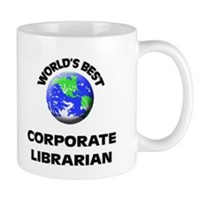 World's Best Corporate Librarian Mug