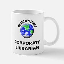 World's Best Corporate Librarian Mug