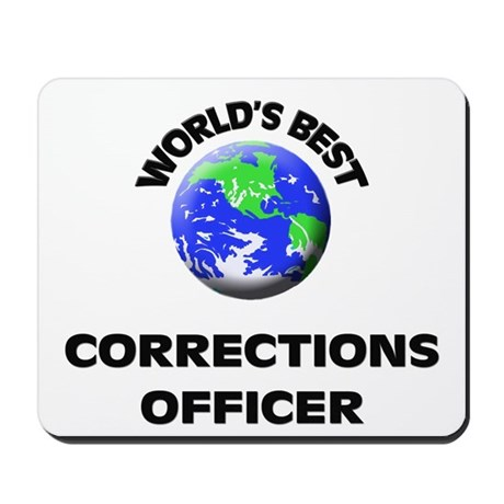 World's Best Corrections Officer Mousepad