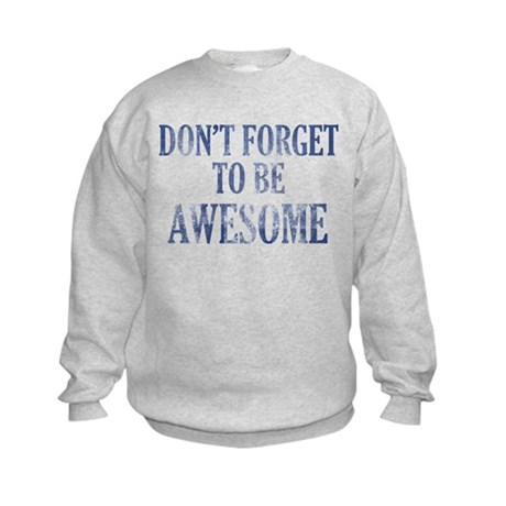 Funny Awesome designs Kids Sweatshirt