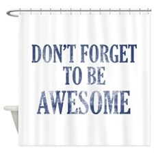 Funny Awesome designs Shower Curtain