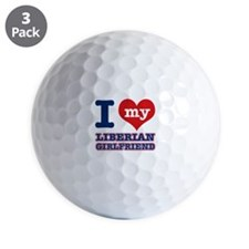 Liberian Girlfriend designs Golf Ball