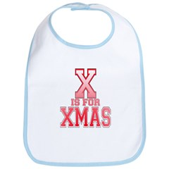 X is for Xmas Bib