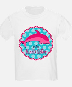 Dolphin Middle Sister T-Shirt