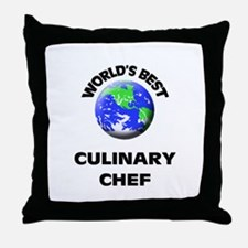 World's Best Culinary Chef Throw Pillow