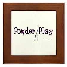Powder Play Framed Tile