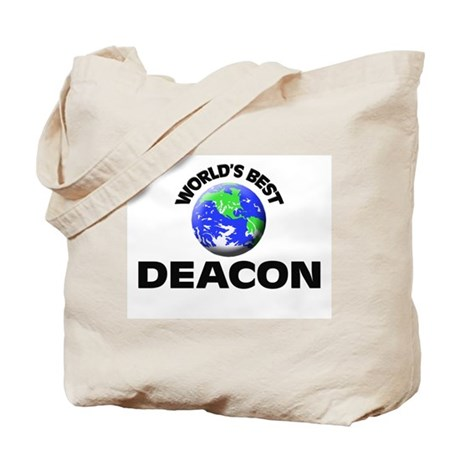World's Best Deacon Tote Bag