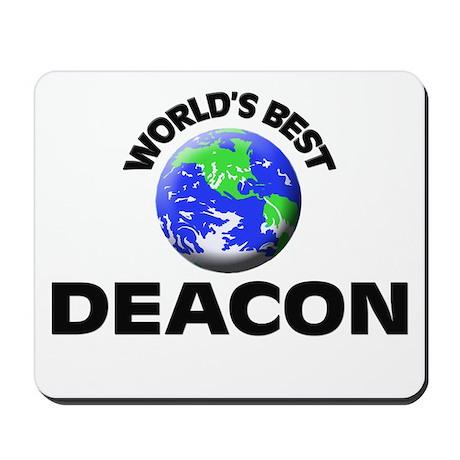 World's Best Deacon Mousepad