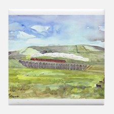 Ribblehead Viaduct Tile Coaster