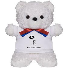 Cheese Lover Teddy Bear