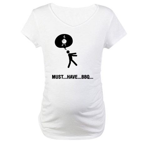 Barbecue Lover Maternity T-Shirt