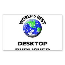 World's Best Desktop Publisher Decal