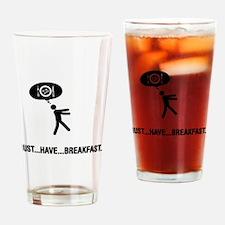 Breakfast Drinking Glass
