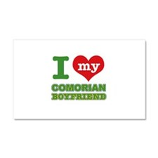 I love my Comorian Boyfriend Car Magnet 20 x 12