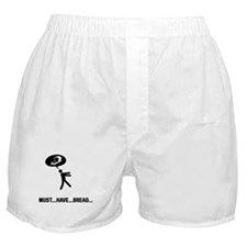 Bread Lover Boxer Shorts