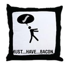 Bacon Lover Throw Pillow